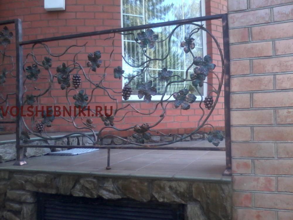 ОГРАЖДЕНИЯ С ВИНОГРАДНОЙ ЛОЗОЙ ПК-ЛБ38