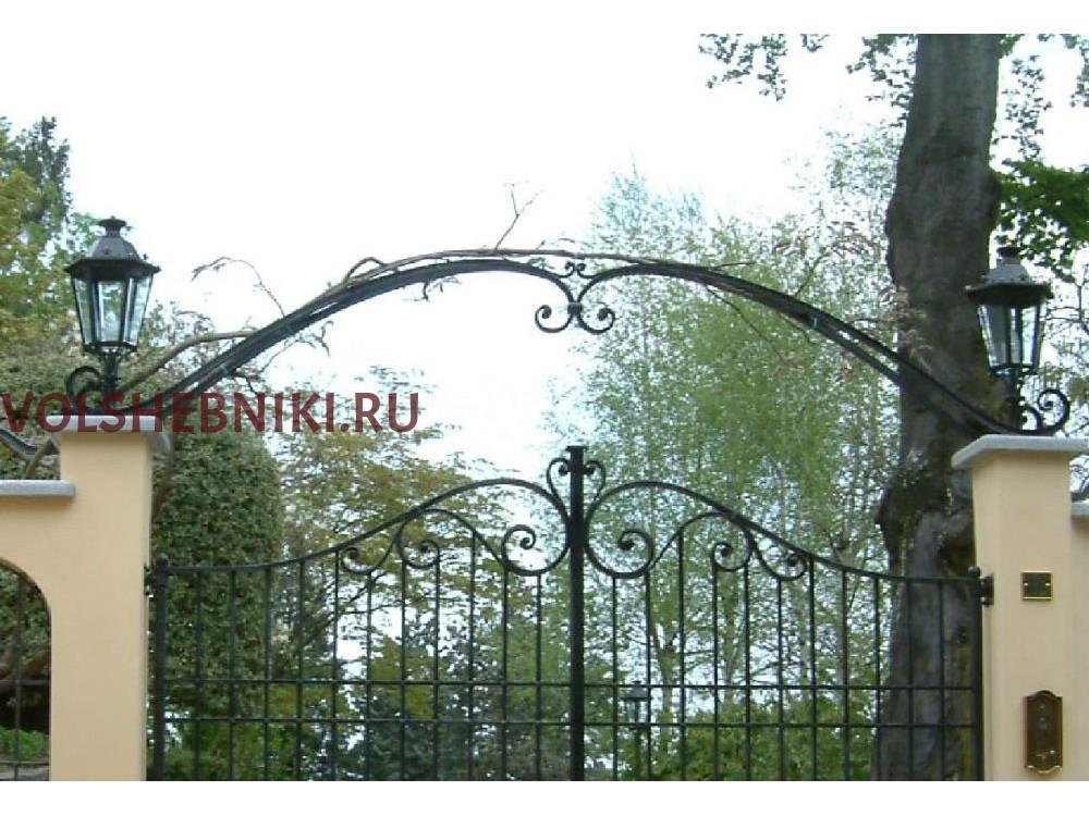 ВОРОТА С АРКОЙ ВКВ-28